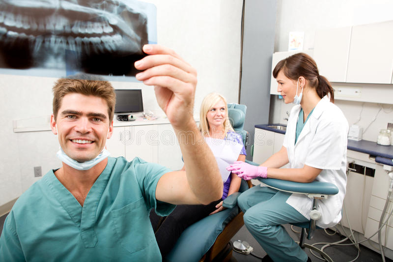 dentysty promienia zęby x fotografia royalty free
