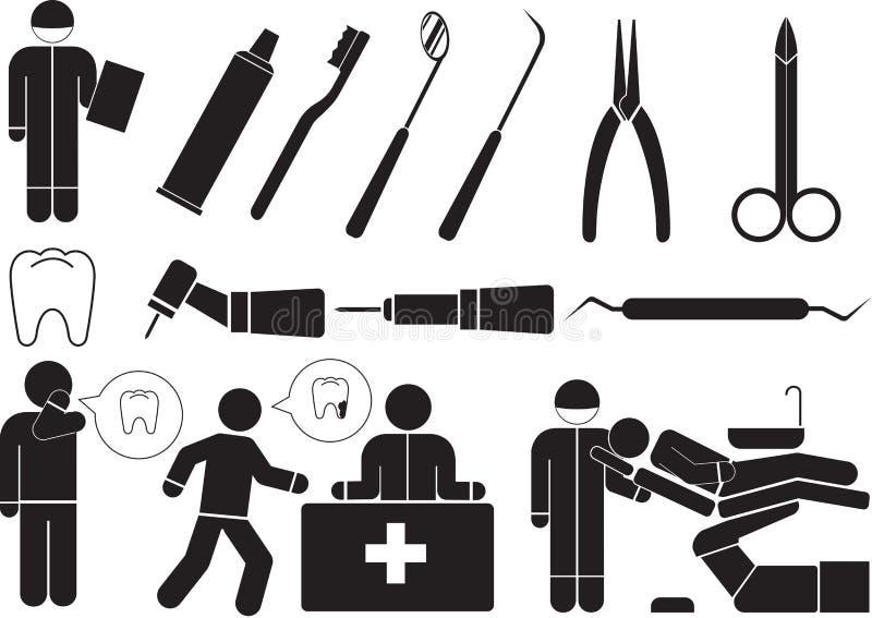 dentystyka royalty ilustracja