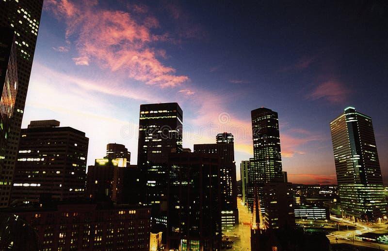 Denver 001 linia horyzontu obrazy stock