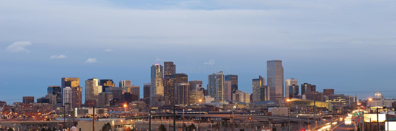 Denver. royalty-vrije stock foto's