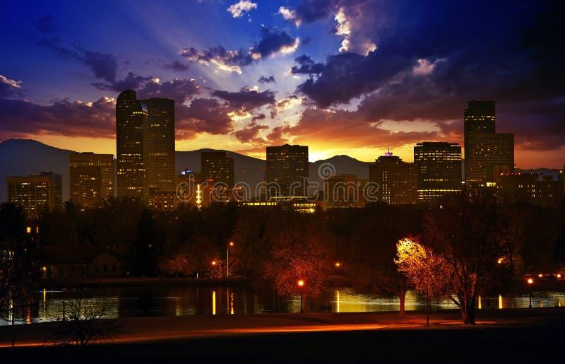 Denver lizenzfreie stockfotos