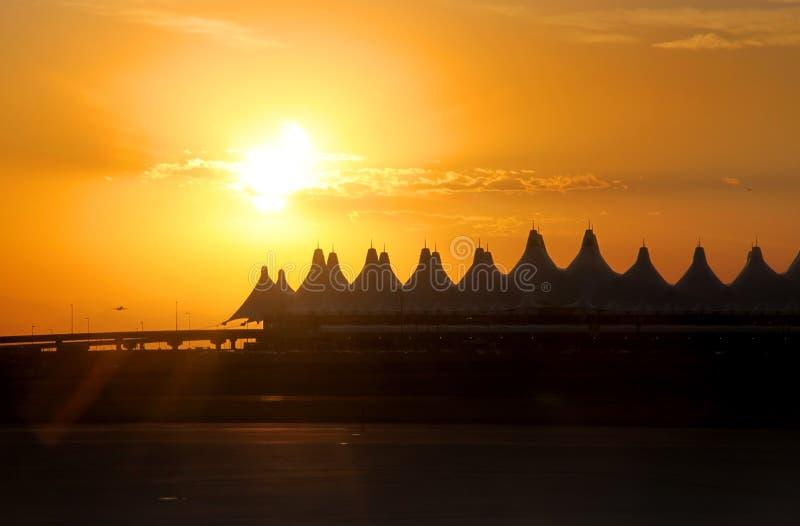 Denver Airport royalty-vrije stock afbeelding