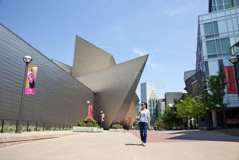 Denver Art Museum lizenzfreie stockbilder