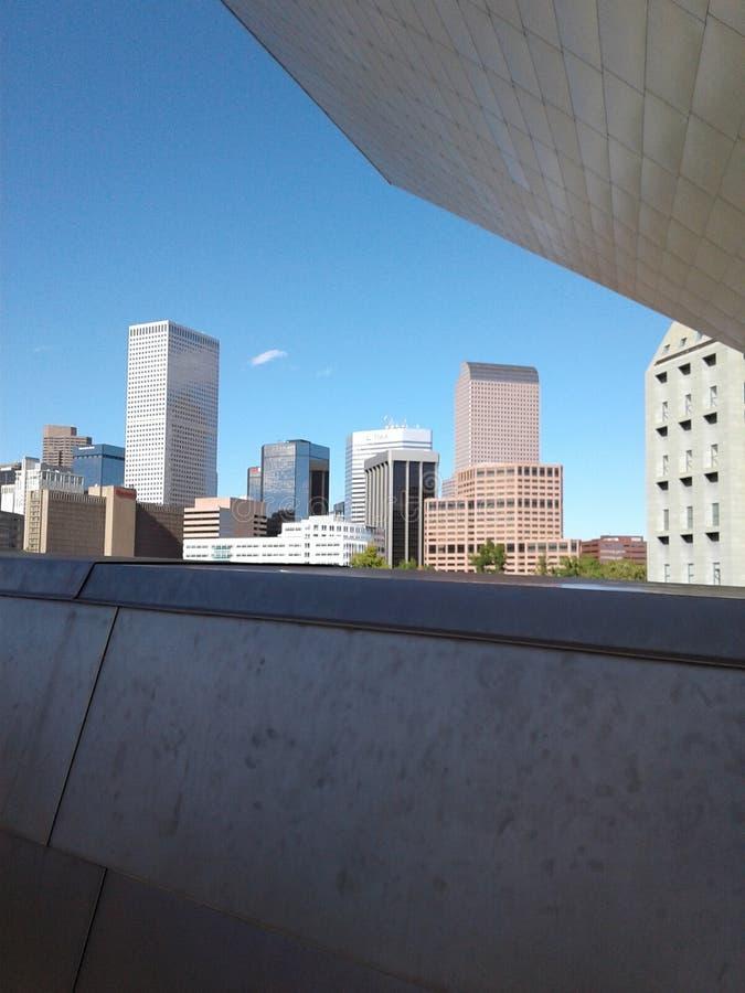 Denver Buldings photo libre de droits
