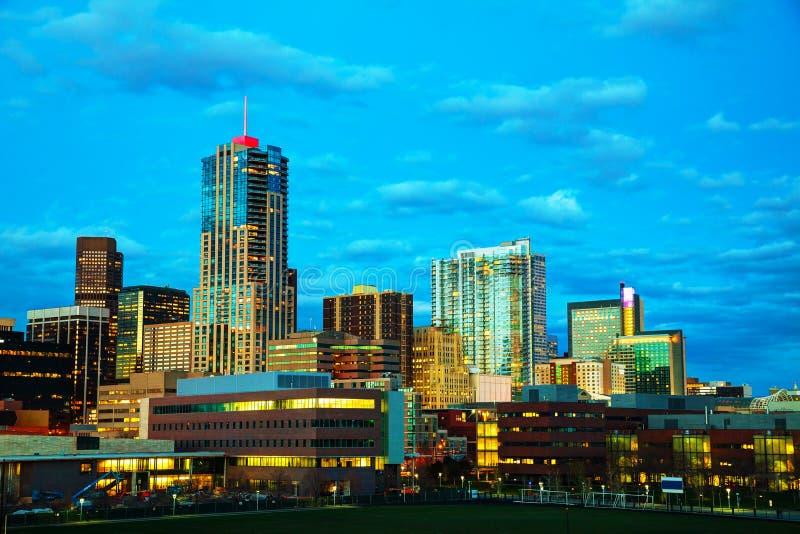 Denver céntrica, Colorado fotos de archivo libres de regalías
