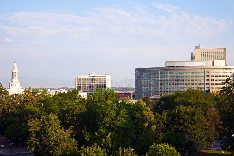 Download Denver City Hall stock image. Image of skyscraper, urban - 25712055