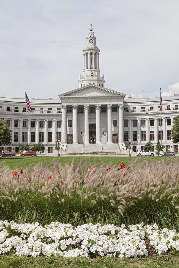 Denver City Hall foto de archivo