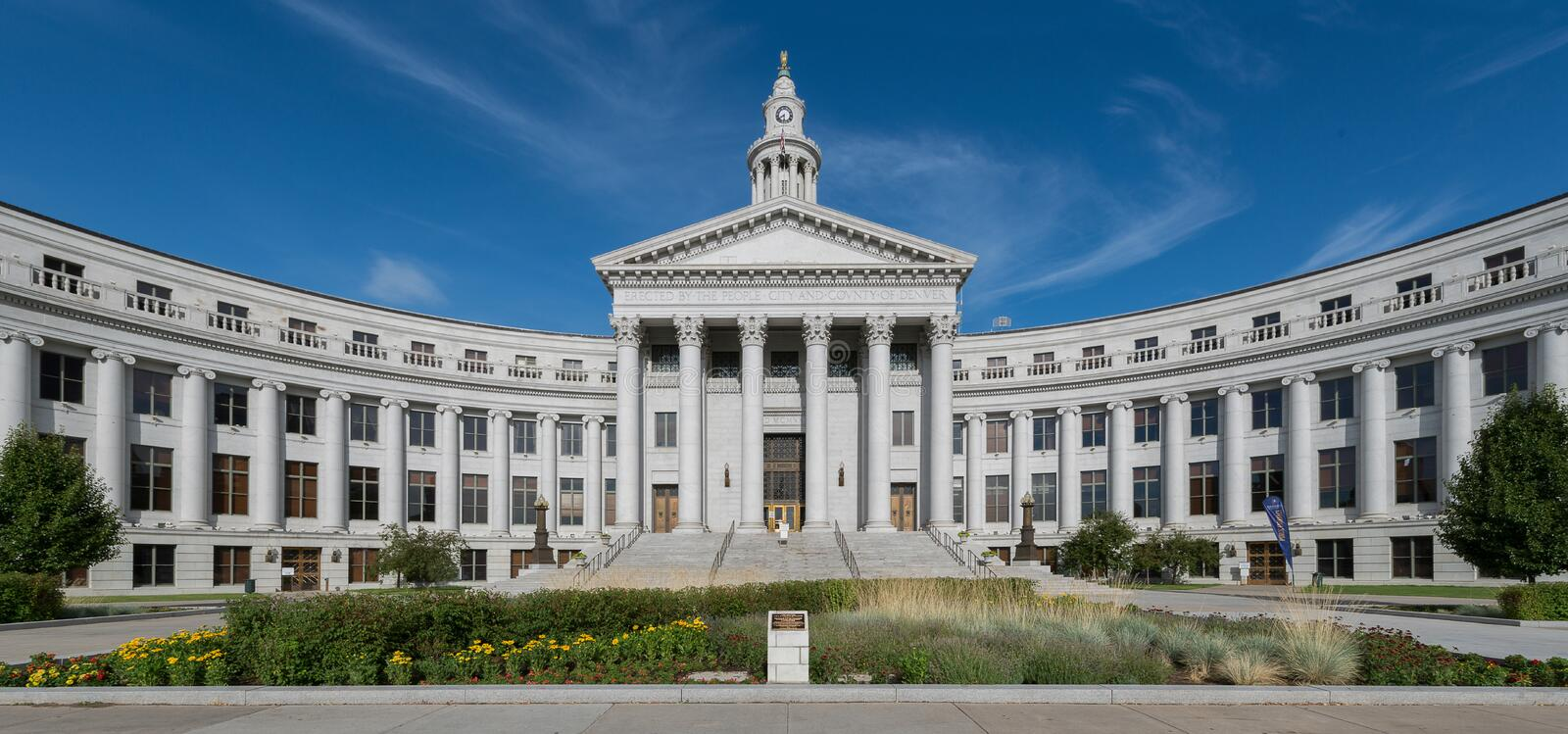 Denver City Hall royalty free stock images