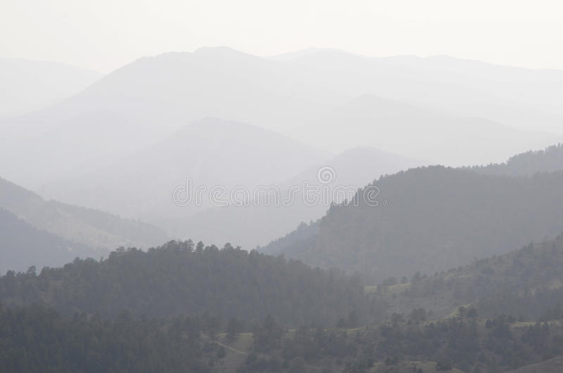 Download DENVER, CO - AUGUST 2012 - Wildfire Smoke Editorial Stock Image - Image: 26171614