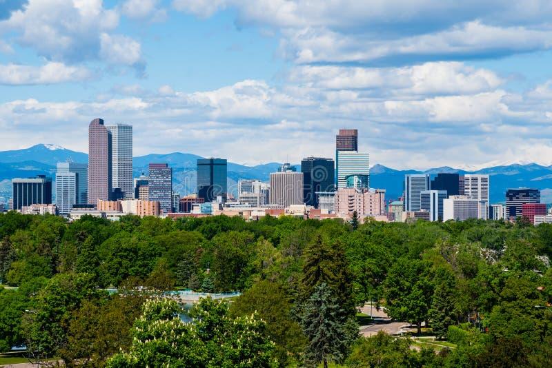 Denver Colorado royalty-vrije stock afbeelding