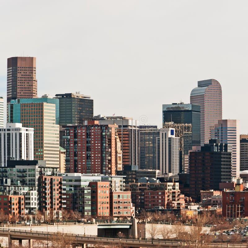 Denver Colorado Downtown Area royalty free stock photography