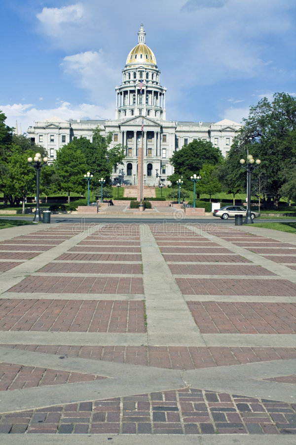 Denver, Colorado - State Capitol stock images