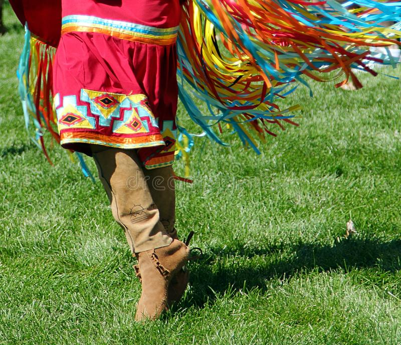 Denver, Colorado. 29th Annual Friendship Powwow and American Indian Cultural Celebration. stock photography