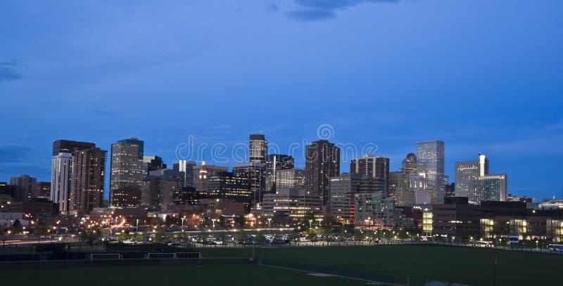 Denver da baixa imagens de stock royalty free