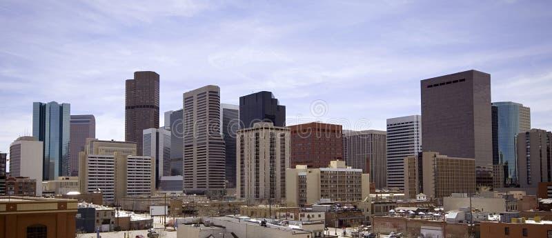 Denver du centre image stock