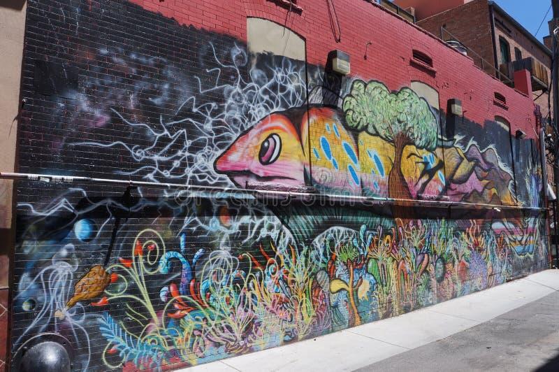 Denver du centre photo libre de droits