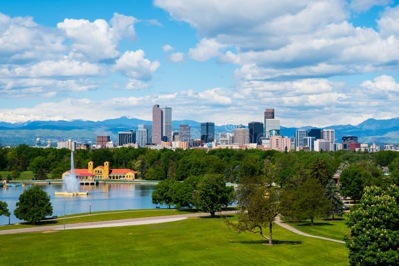 Denver du centre image libre de droits
