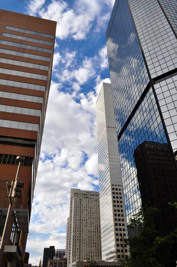 Denver du centre le Colorado image libre de droits