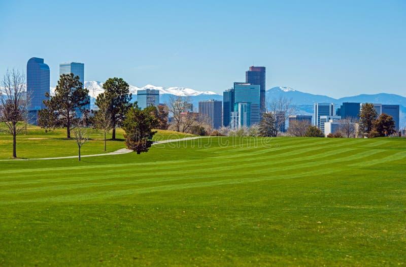 Denver Green Fields stockbilder