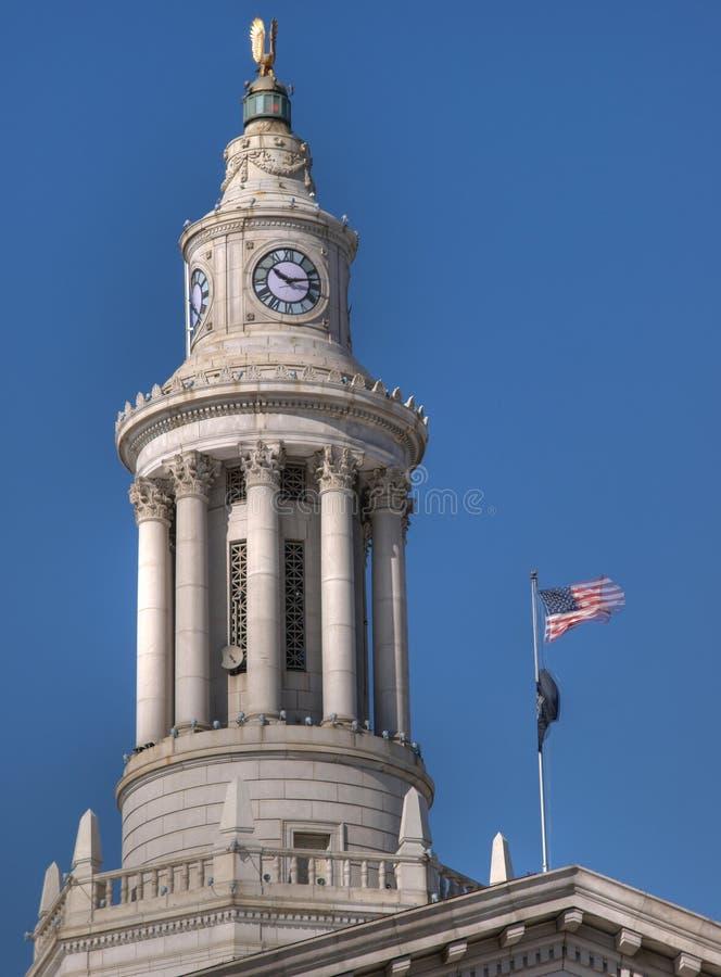 Denver histórica foto de archivo libre de regalías