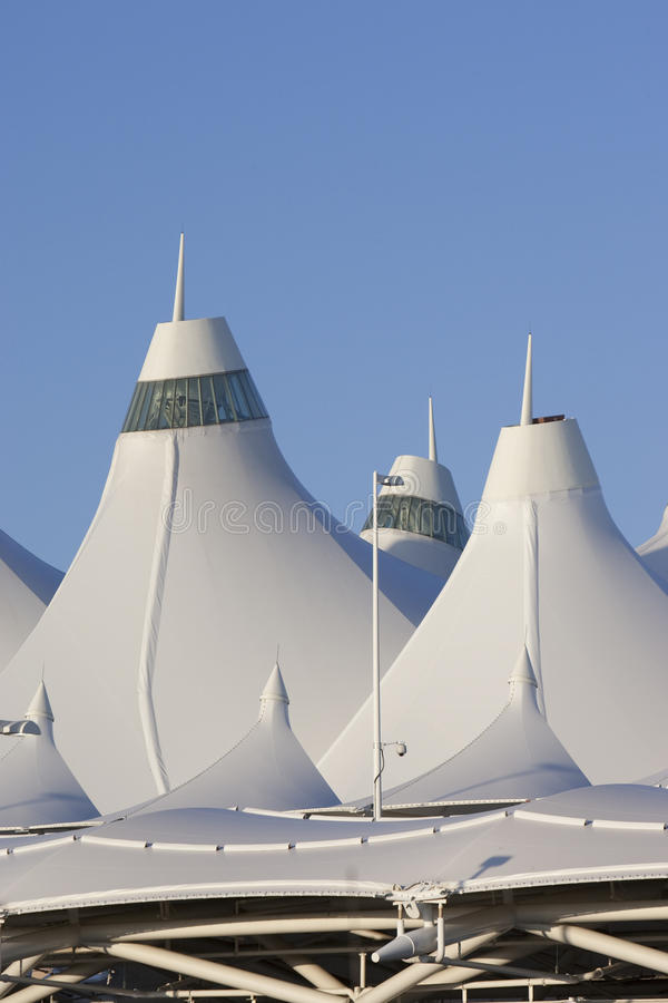 Download Denver International Airport Editorial Photography - Image of dusk, united: 10998387