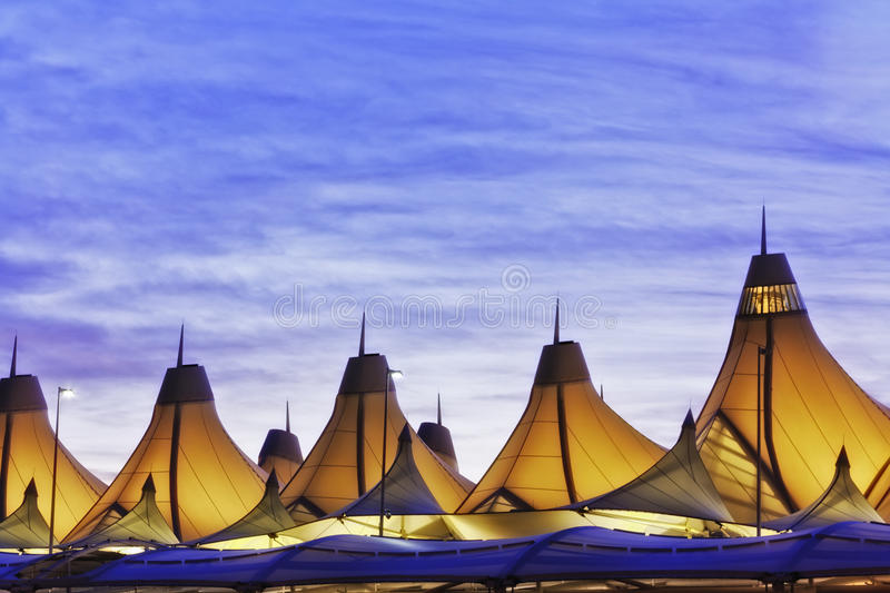 Denver International Airport royalty free stock photo