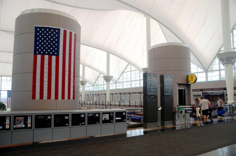 Denver international airport interior