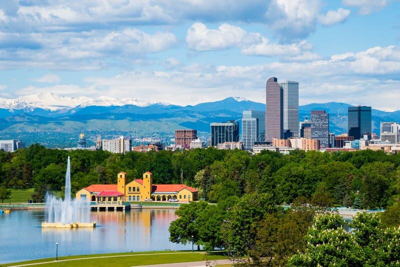 Denver le Colorado photographie stock