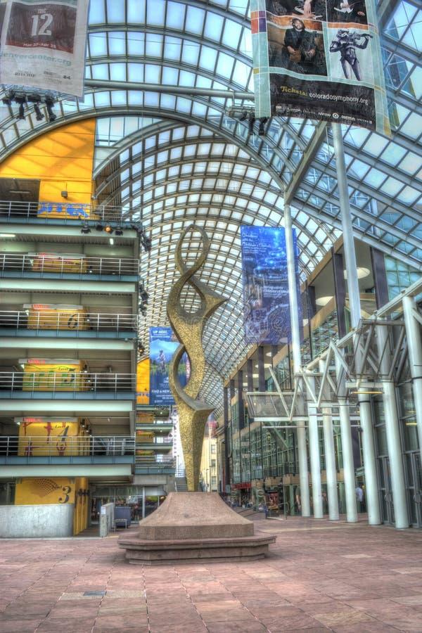 Denver Performing Arts Center fotos de archivo libres de regalías