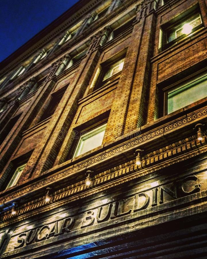Denver& x27;s Sugar Building royalty free stock photo