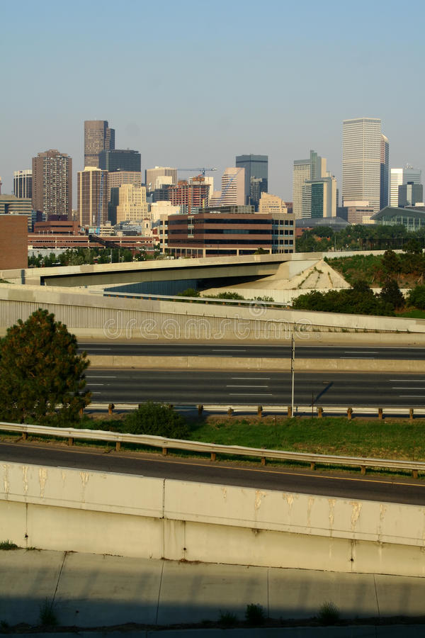 The Denver Skyline Stock Photos