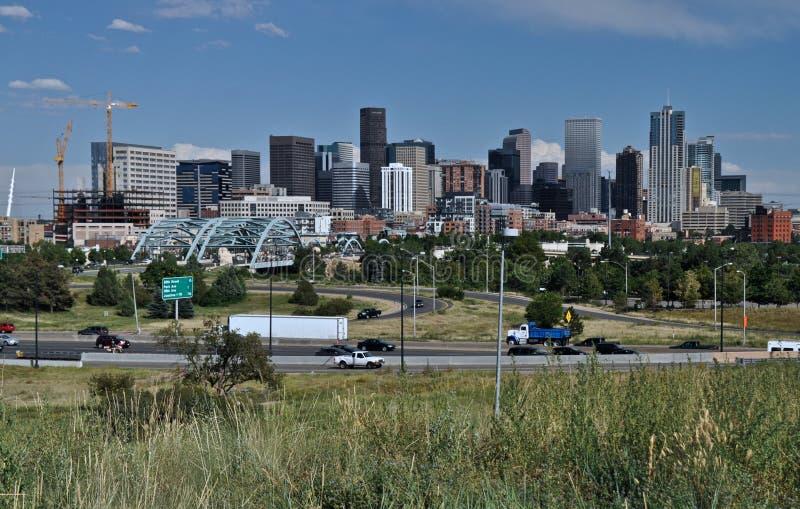 Denver Skyline Royalty Free Stock Images