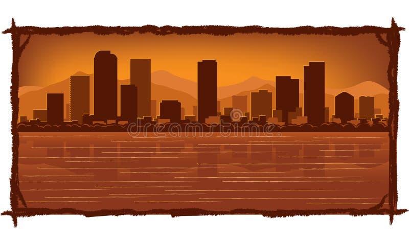 Download Denver Skyline Royalty Free Stock Images - Image: 22817679