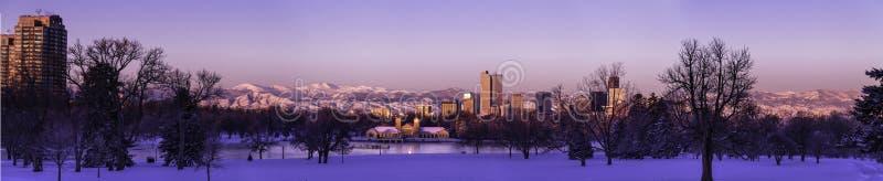Denver Skyline foto de archivo