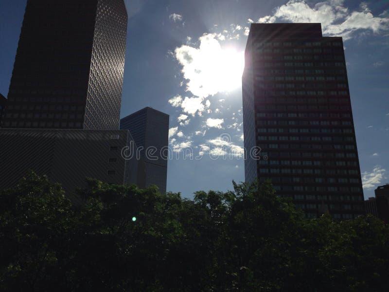 Denver Skyline stockfotografie