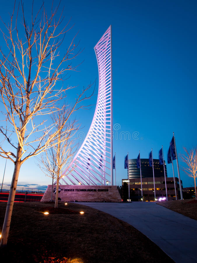 Free Denver Tech Center Monument Royalty Free Stock Photos - 42053298