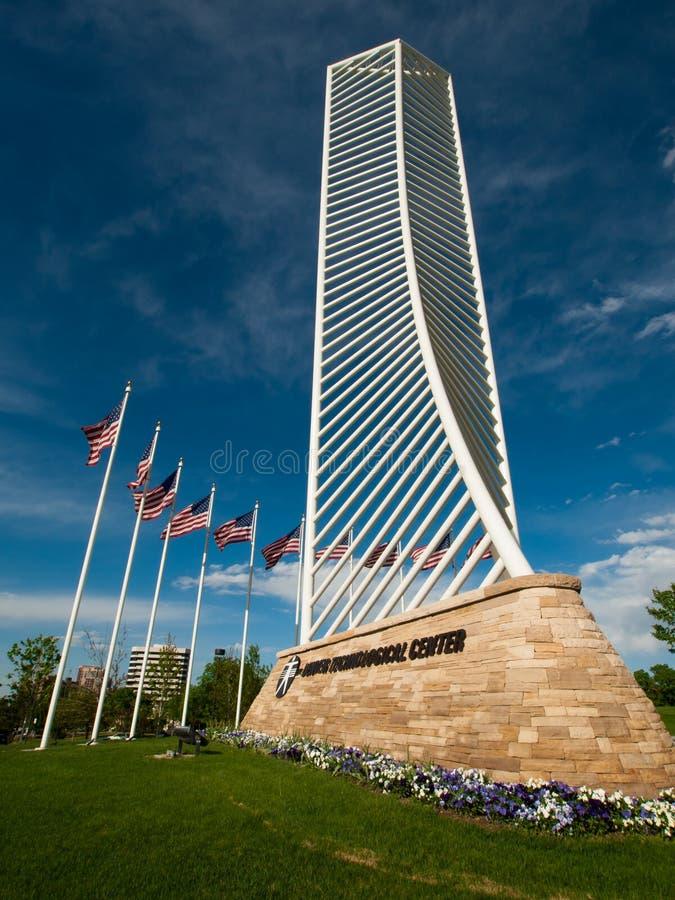 Denver Tech Center Monument foto de stock