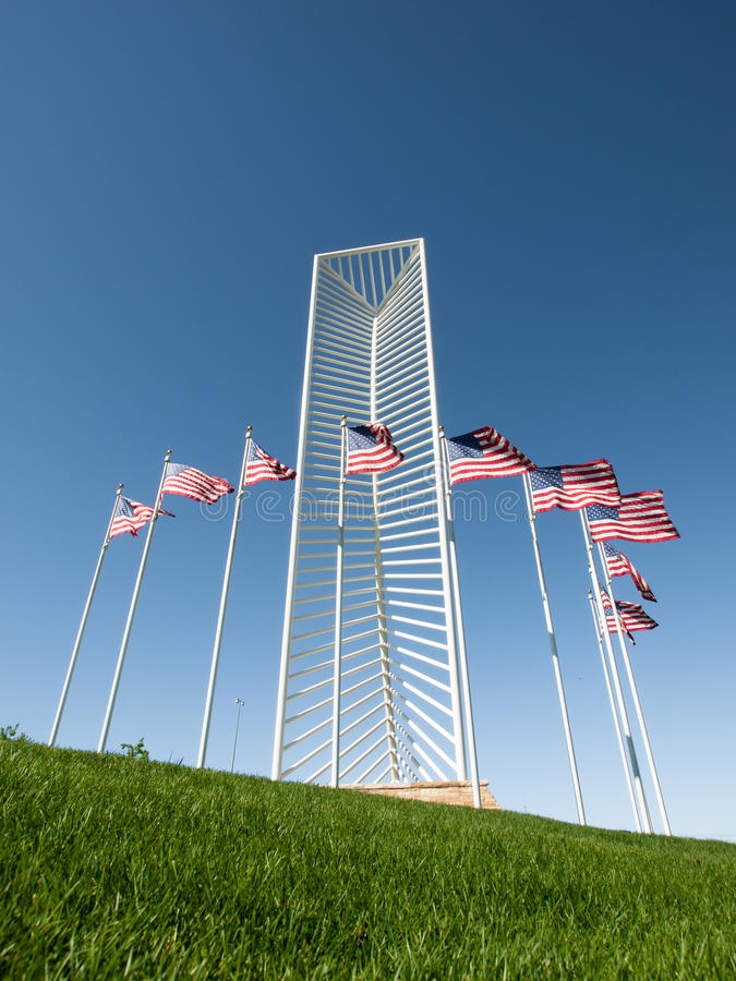 Denver Tech Center Monument arkivfoto