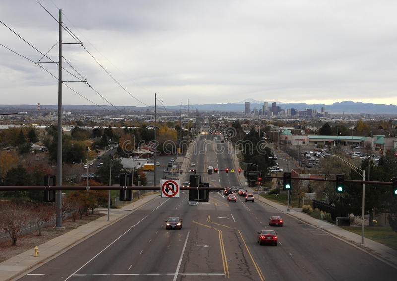 Denver Thornton arkivfoto