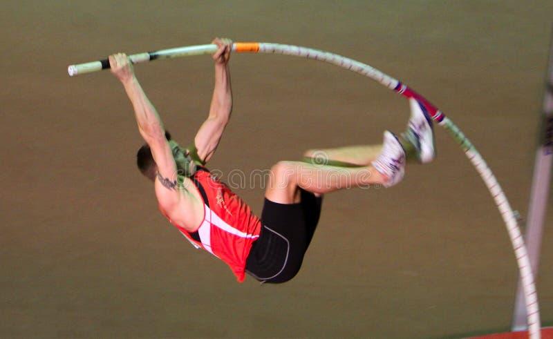 Denys Yurchenko no copo ucraniano no atletismo foto de stock