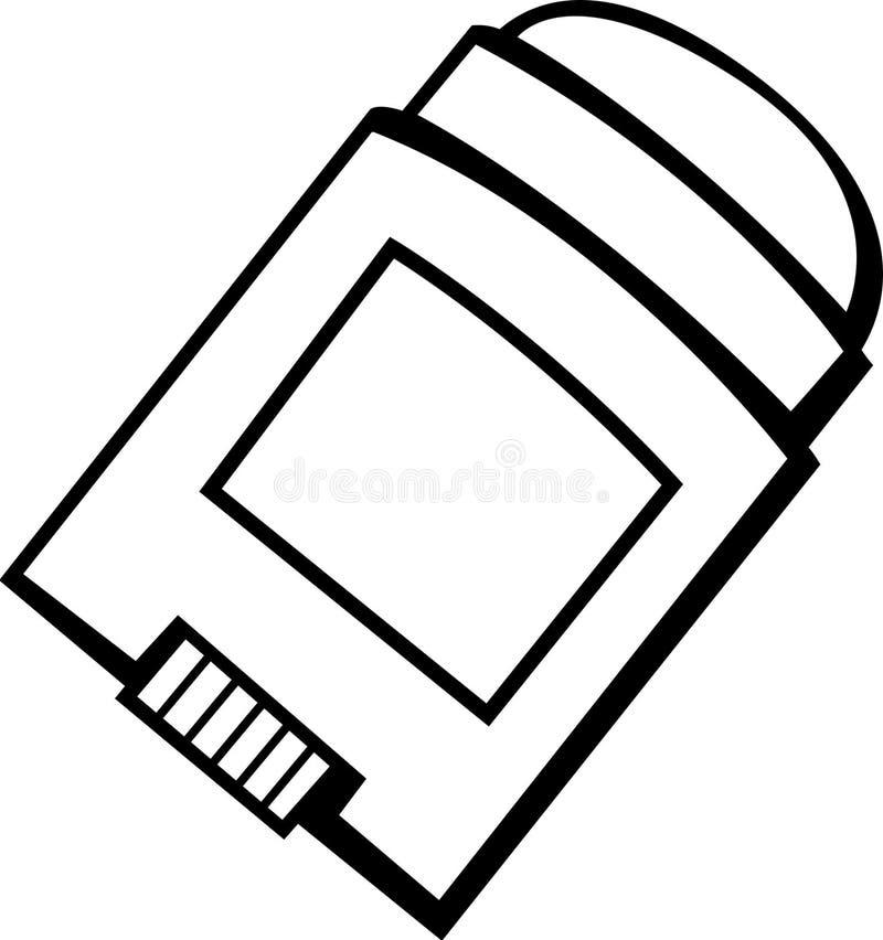 deodorant штанги бесплатная иллюстрация