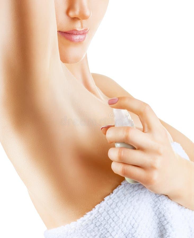 deodorant royaltyfri foto