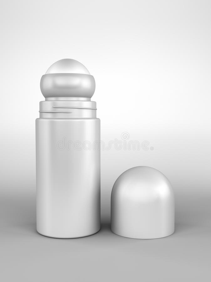 Deodorant Open Roll-on Royalty Free Stock Photos
