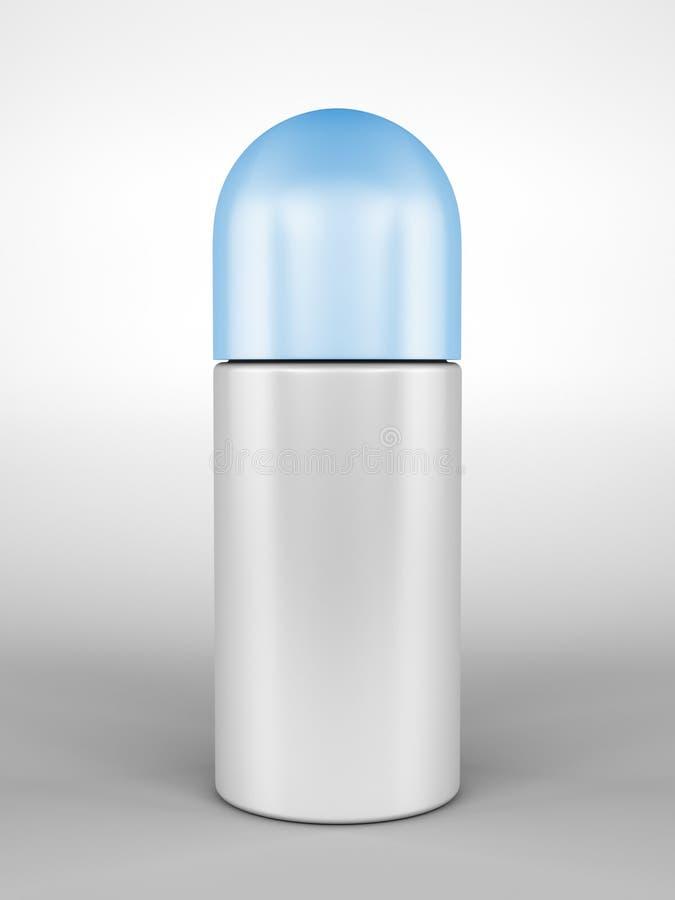 deodorantrulle vektor illustrationer