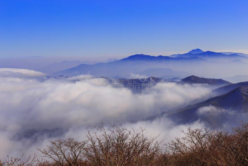 Deogyusan mountains. royalty free stock photos