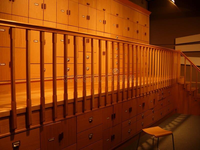 Depósito arquivístico foto de stock