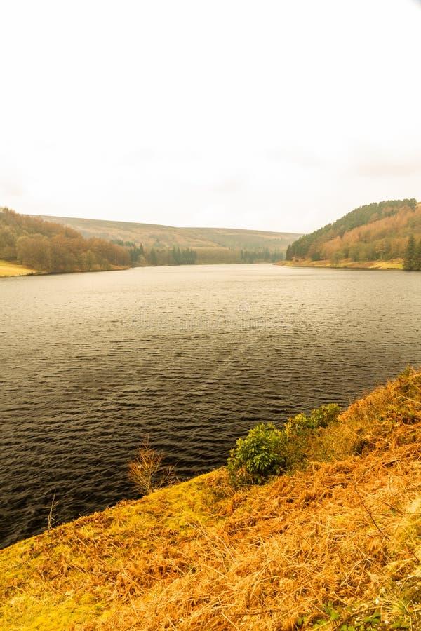Depósito de Ladybower en Derbyshire fotos de archivo