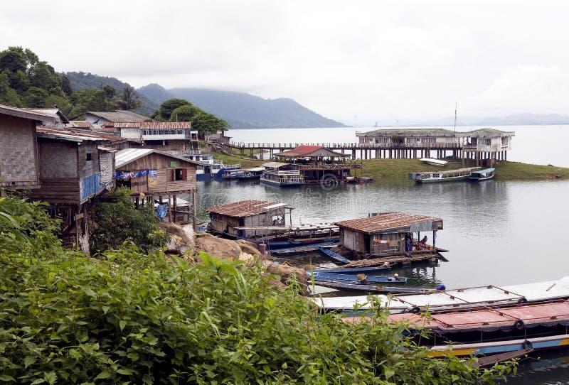 Depósito de Nam Ngum, Laos imagenes de archivo