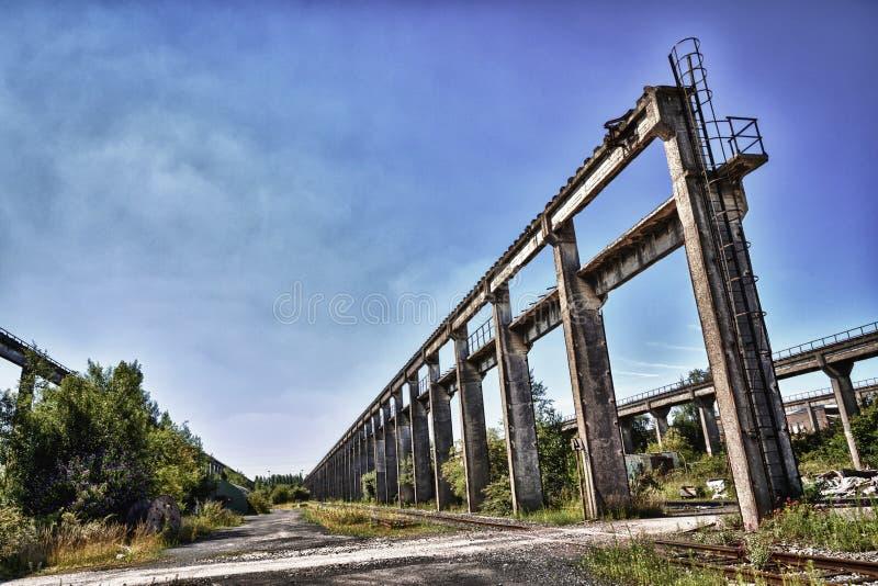 Depósito de trem histórico fotos de stock royalty free