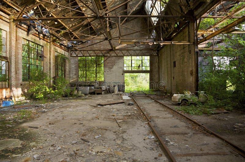 Depósito de tren de Atlanta imagen de archivo libre de regalías